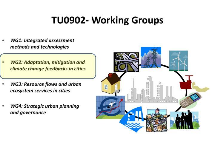 TU0902- Working Groups