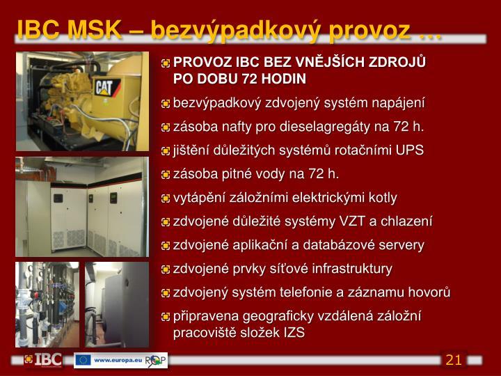 IBC MSK –