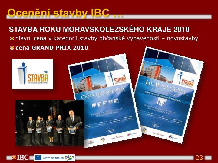 Ocenění stavby IBC