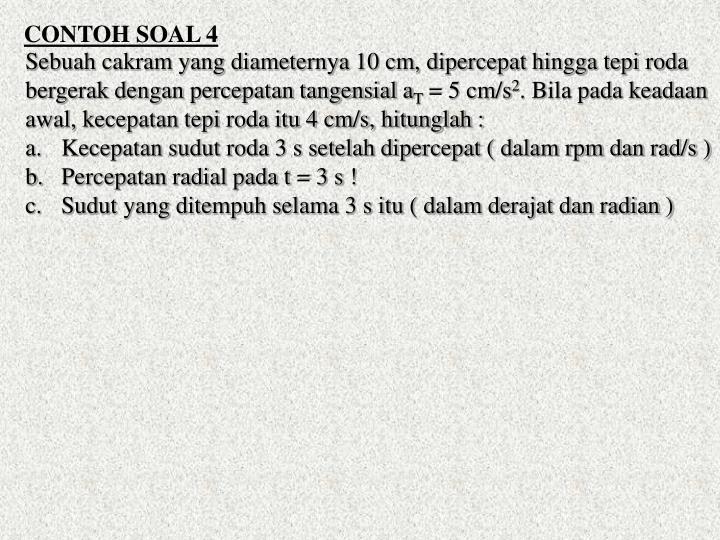 CONTOH SOAL 4