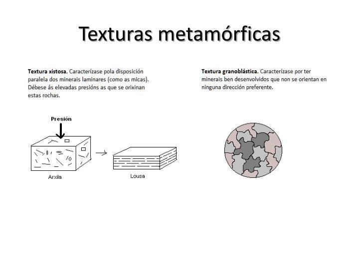 Texturas metamórficas