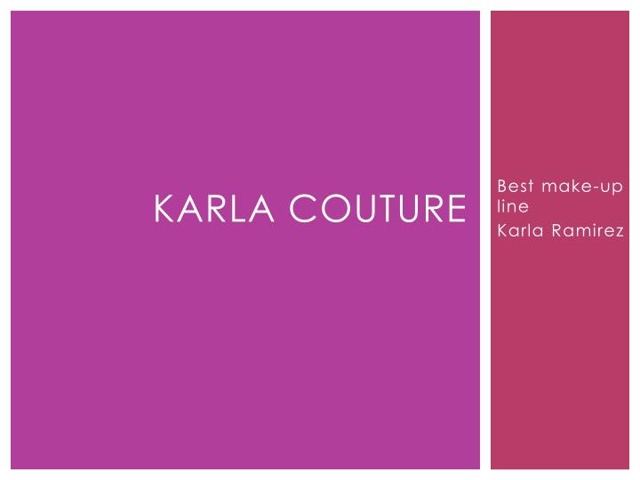 karla couture