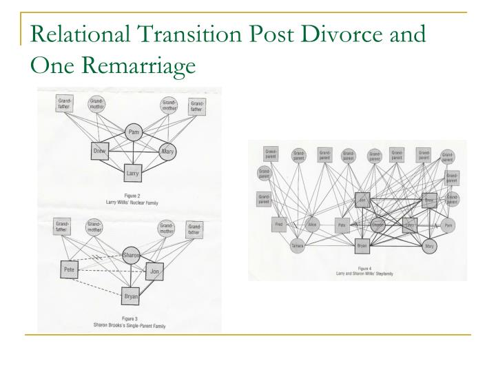 Relational Transition Post Divorce and One Remarriage