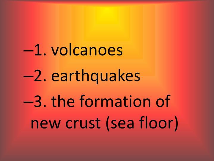 1. volcanoes