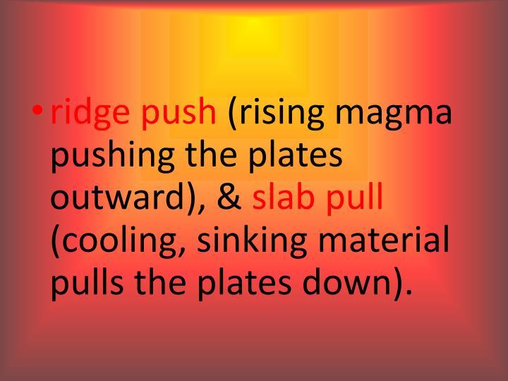ridge push