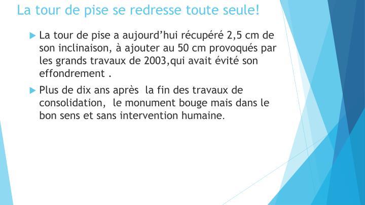 Ppt pise et sa tour powerpoint presentation id 2055403 - La tour de pise se redresse ...