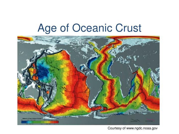 Age of Oceanic Crust
