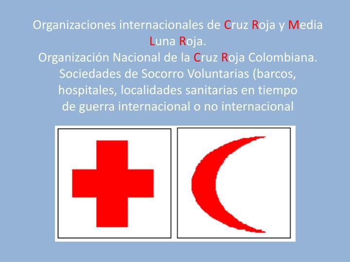 Organizaciones internacionales de