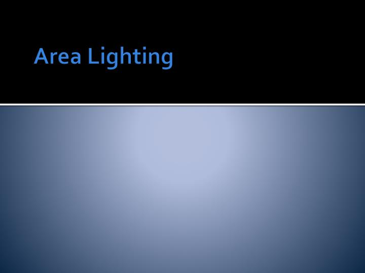 Area Lighting
