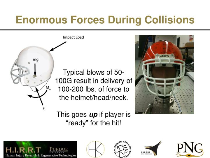 Enormous Forces During Collisions