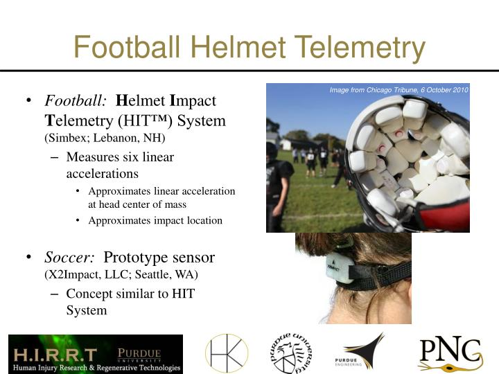 Football Helmet Telemetry