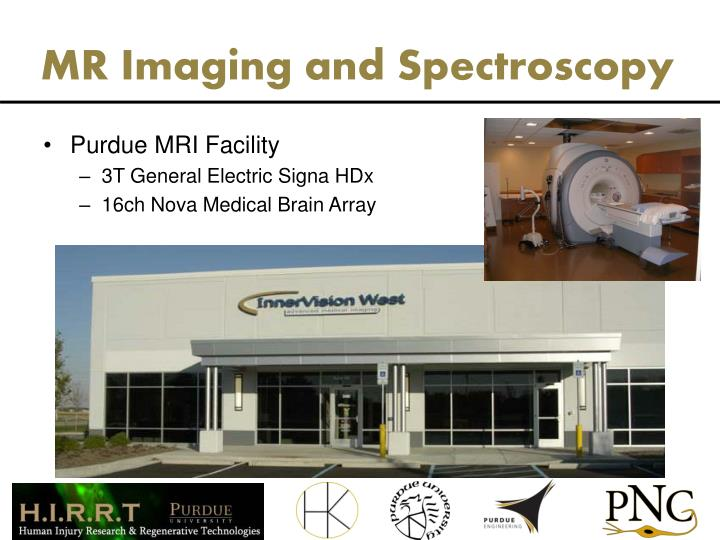MR Imaging and Spectroscopy