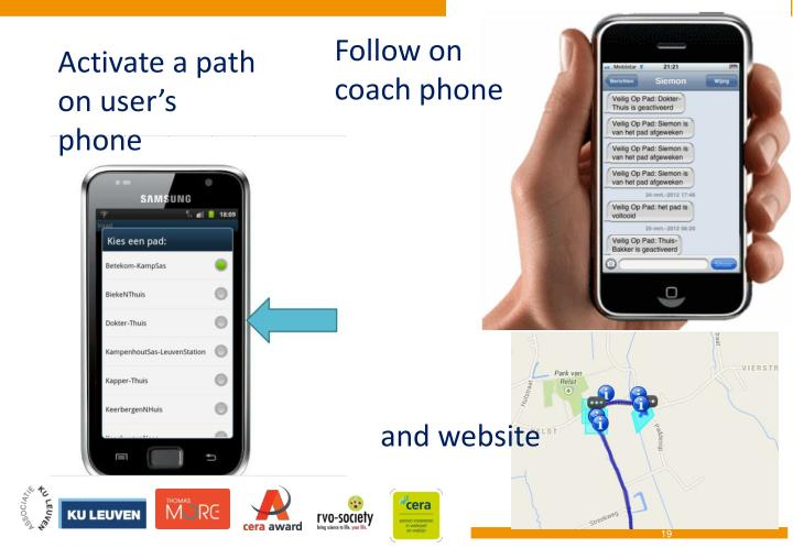 Follow on coach