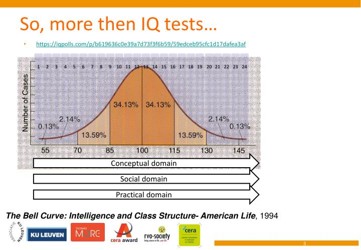 So more then iq tests