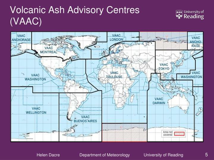 Volcanic Ash Advisory