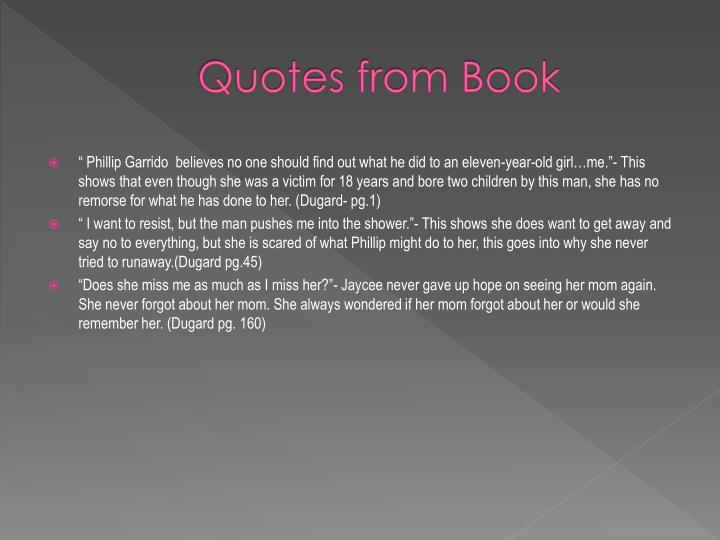 Quotes from Book