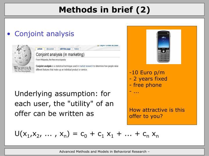 Methods in brief (2)
