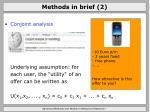 methods in brief 2