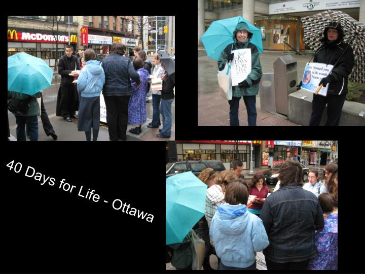 40 Days for Life - Ottawa