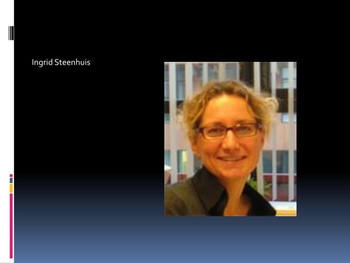 Ingrid Steenhuis