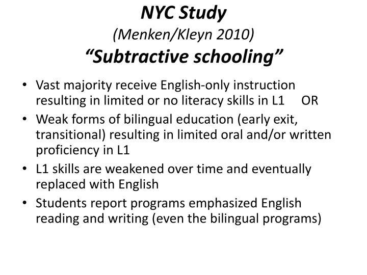NYC Study