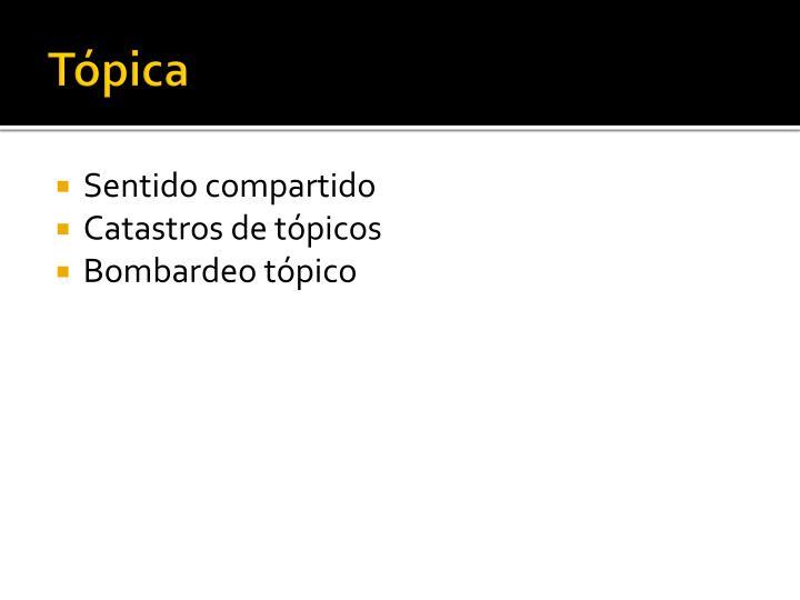 Tópica
