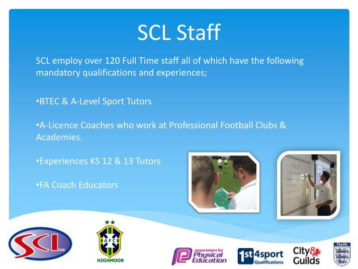 SCL Staff