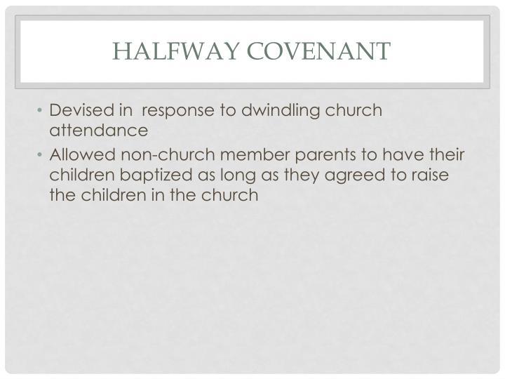 Halfway Covenant