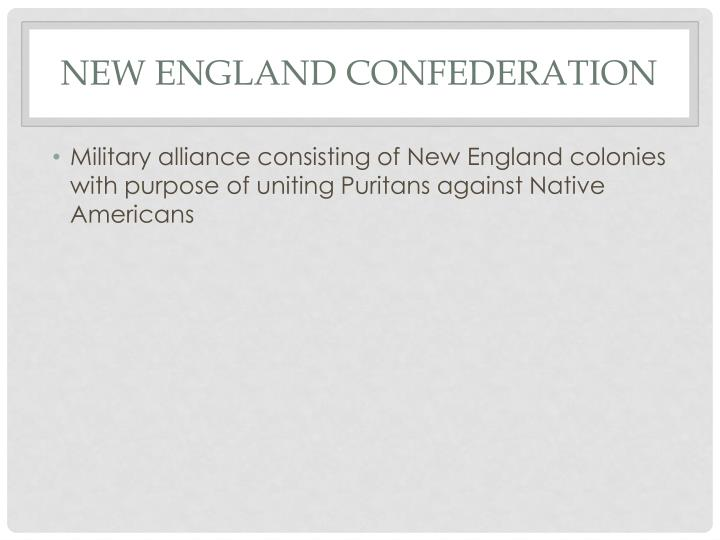 New England Confederation