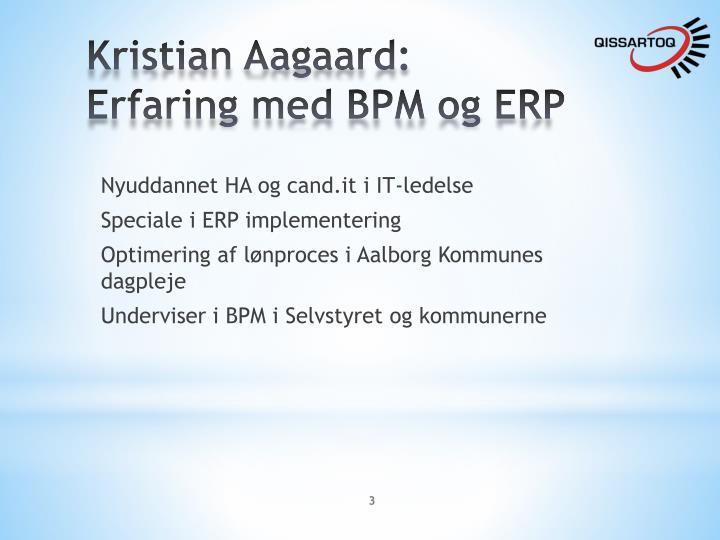 Kristian Aagaard: