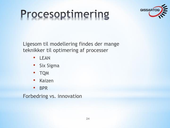 Procesoptimering