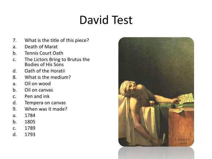 David Test