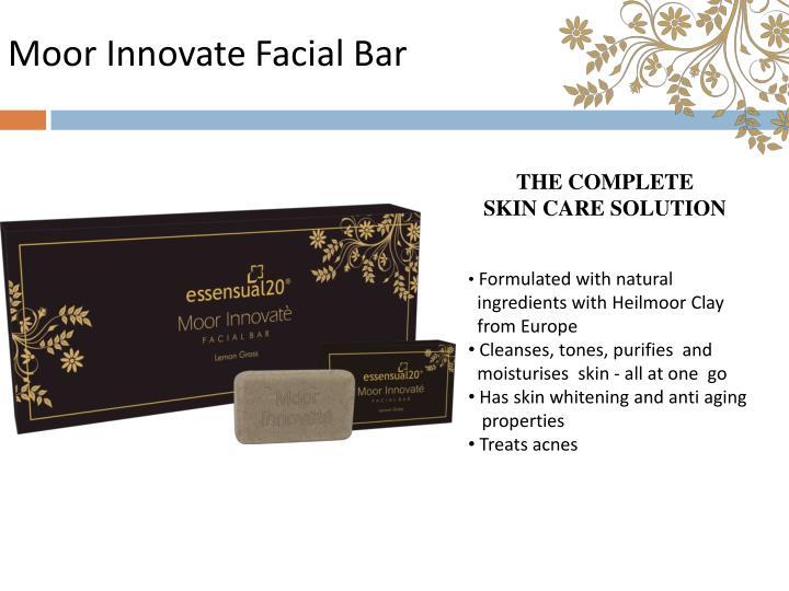 Moor Innovate Facial Bar