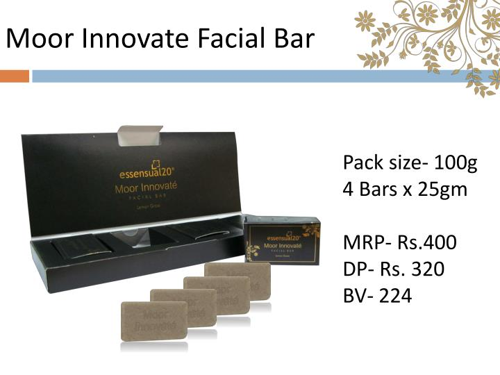 Moor Innovate Facial Bar