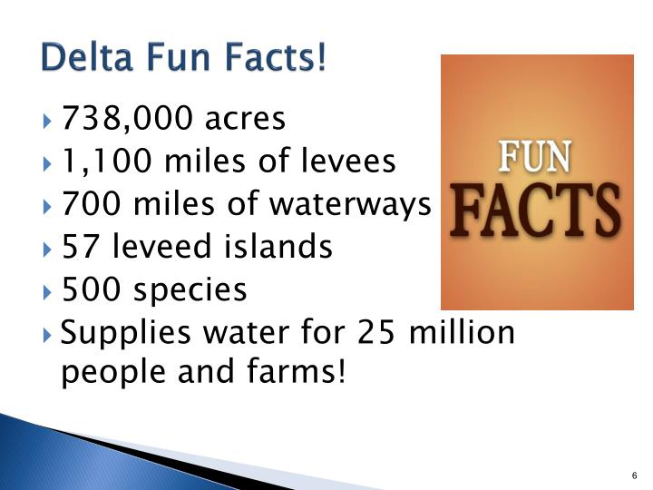 Delta Fun Facts!