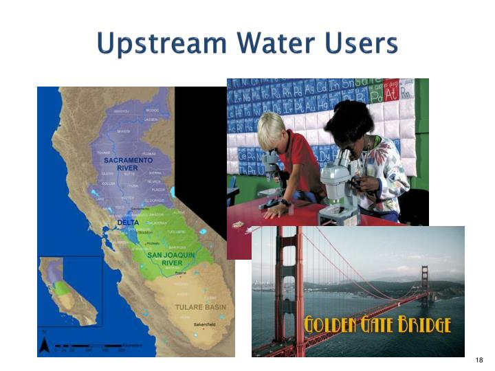 Upstream Water Users