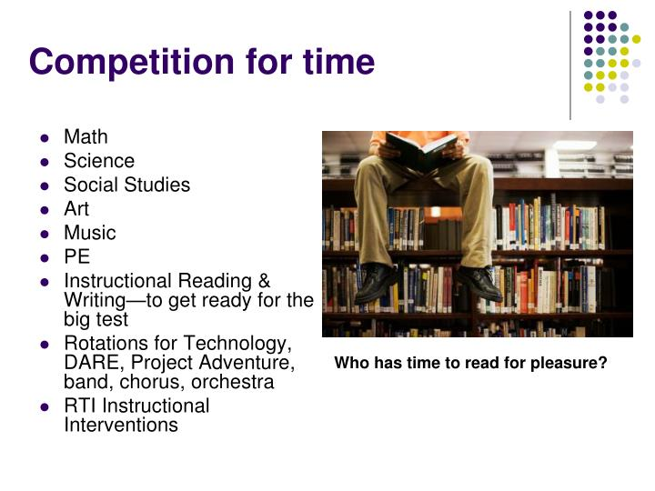 Competition for time