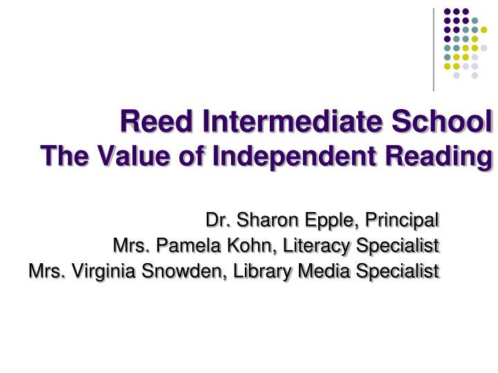 Reed Intermediate School