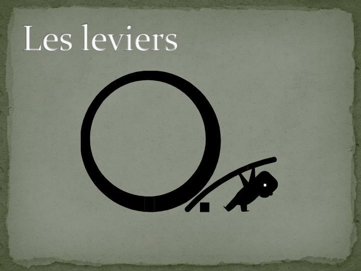 Les leviers