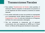 transacciones fiscales1