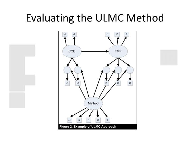 Evaluating the ULMC Method