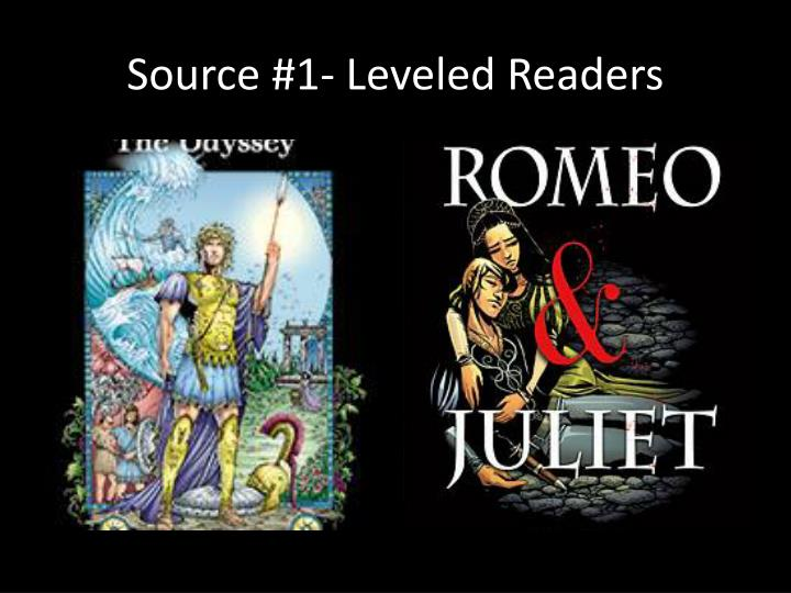Source #1- Leveled Readers