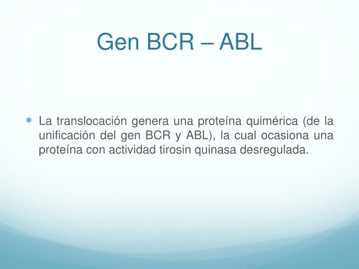 Gen BCR
