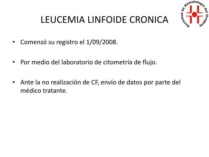 LEUCEMIA LINFOIDE CRONICA