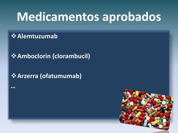 Medicamentos aprobados