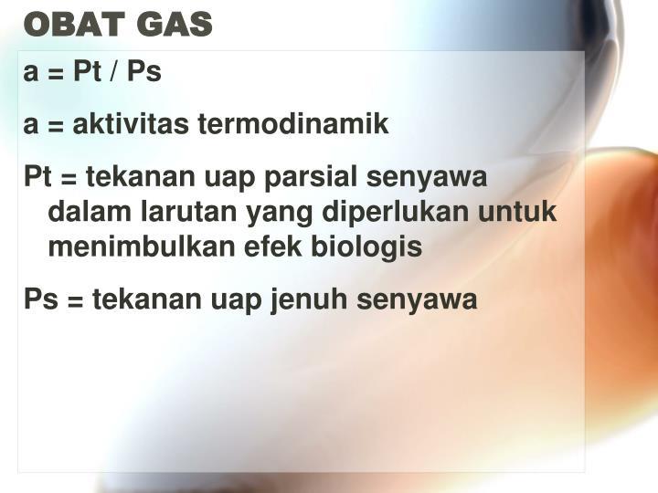 OBAT GAS