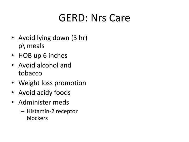 GERD:
