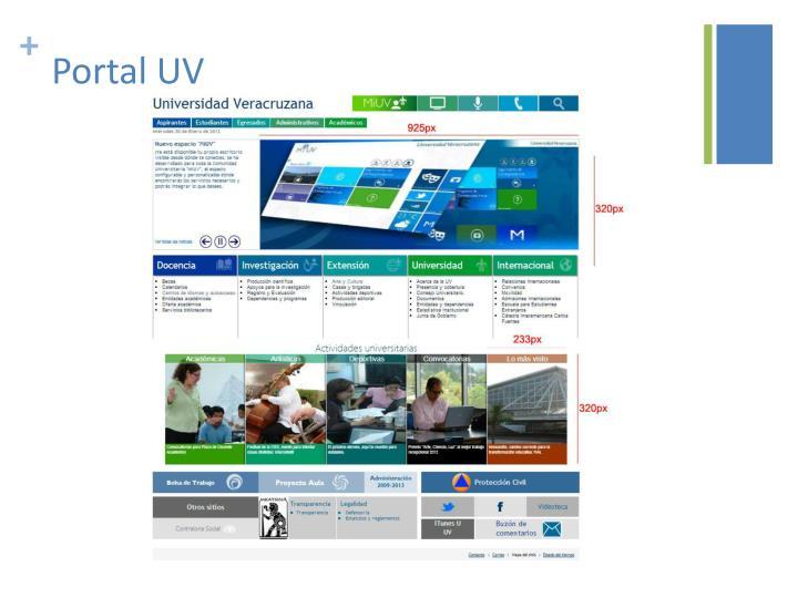 Portal UV