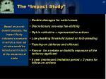 the impact study1