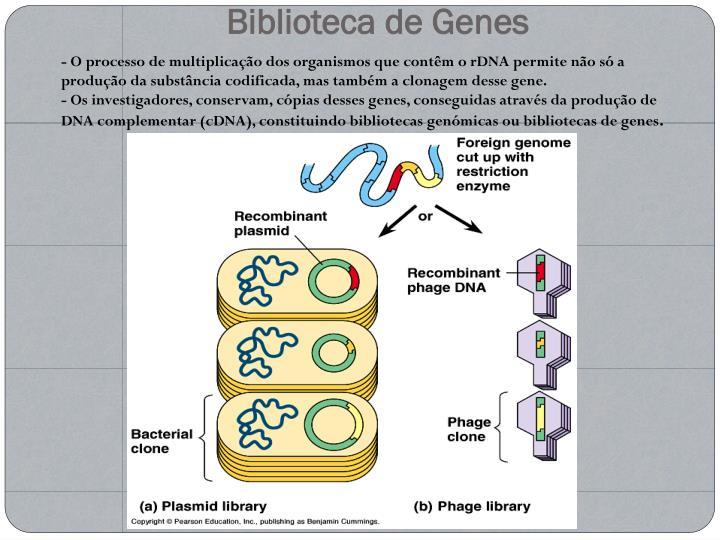 Biblioteca de Genes